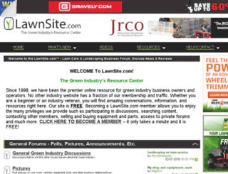 server2.lawnsite.com screenshot