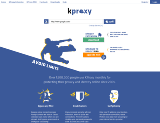 server22.kproxy.com screenshot