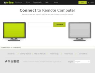 server75.islonline.net screenshot