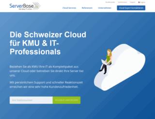 serverbase.ch screenshot