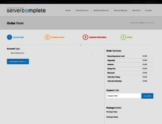 servercomplete.com screenshot