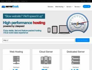 serverfreak.biz screenshot