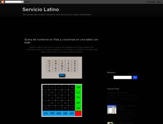 serverlat.blogspot.com.ar screenshot