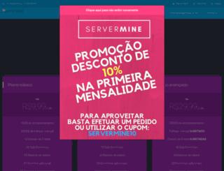 servermine.com.br screenshot