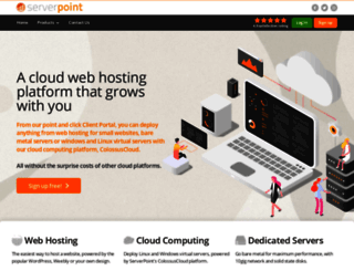 serverpoint.com screenshot