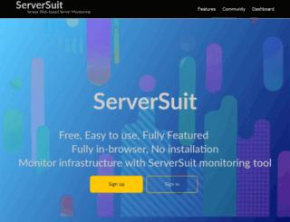 serversuit.com screenshot