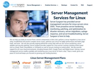 serversurgeon.com screenshot