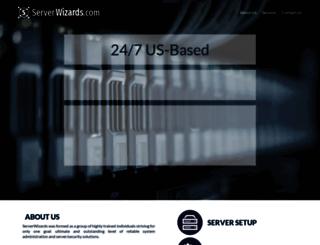 serverwizards.com screenshot