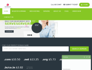 serveservers.biz screenshot