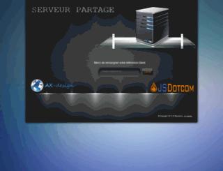 serveur-temporaire.net screenshot