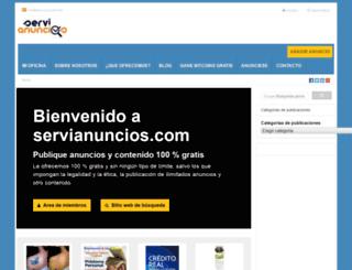 servianuncios.com screenshot