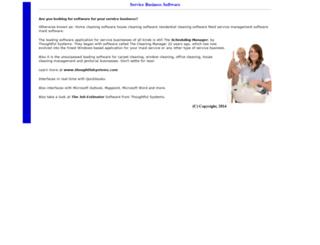 service-business-software.com screenshot