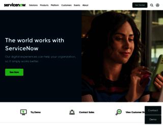 service-now.com screenshot