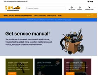 service-workshopmanual.com screenshot