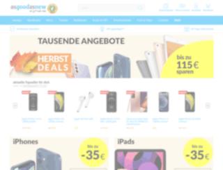 service.asgoodasnew.com screenshot