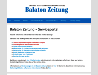 service.balaton-zeitung.info screenshot