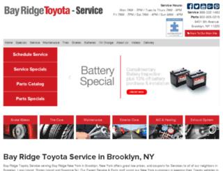 service.bayridgetoyota.com screenshot