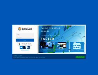 service.belladati.com screenshot