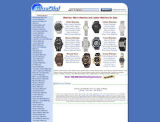 service.bluedial.com screenshot