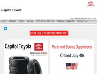 service.capitoltoyota.com screenshot