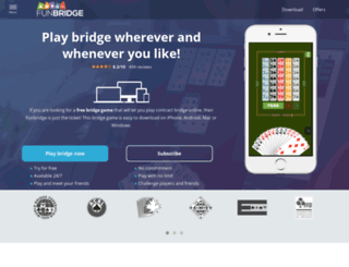 service.funbridge.com screenshot