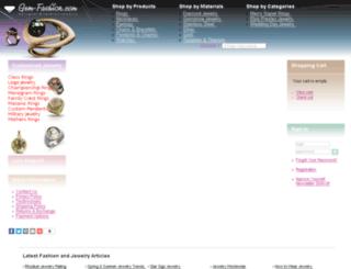 service.gem-fashion.com screenshot