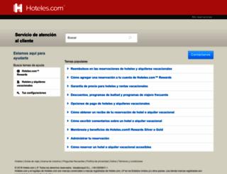 service.hoteles.com screenshot