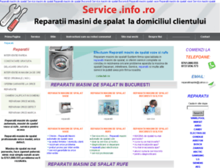 service.info.ro screenshot