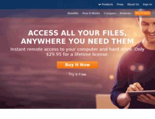 service.pogoplug.com screenshot