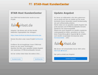 service.star-host.de screenshot