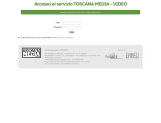 service.toscanamedia.it screenshot