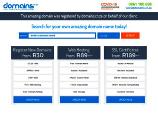 serviceacar.co.za screenshot