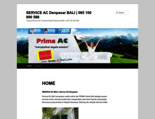 serviceacbali.com screenshot
