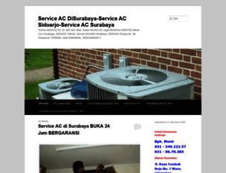 serviceacdisurabaya.wordpress.com screenshot