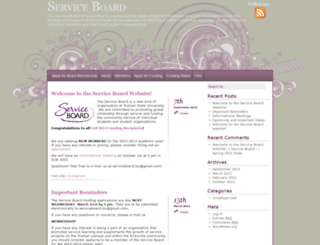 serviceboard.truman.edu screenshot