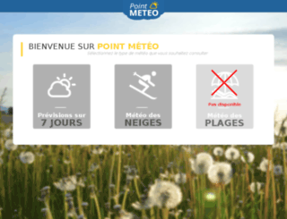 servicec.point-meteo.fr screenshot