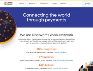 servicecenter.discovernetwork.com screenshot