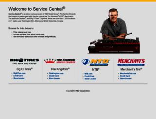 servicecentralauto.com screenshot