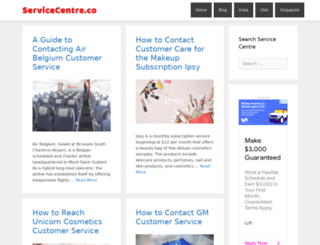 servicecentre.co screenshot