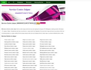 servicecentrejaipur.in screenshot