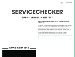 servicechecker.eu screenshot