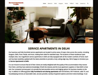 servicedapartmentsindelhi.com screenshot