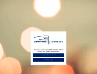 servicedesk.uni-oldenburg.de screenshot