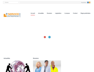 serviceentreprise.com screenshot