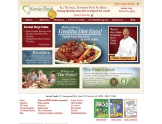 servicefoods.com screenshot