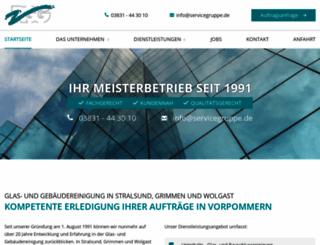 servicegruppe.de screenshot