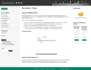 servicegut.com screenshot