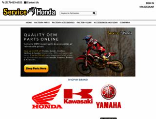servicehonda.com screenshot
