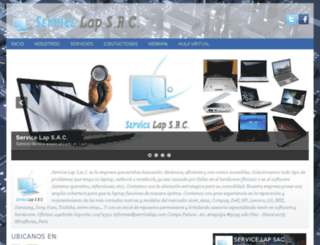 servicelap.com screenshot