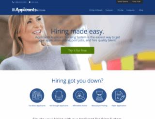 servicelinkfnf.iapplicants.com screenshot